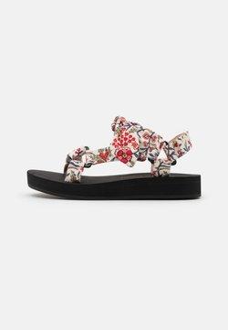 Loeffler Randall - MAISIE - Korkeakorkoiset sandaalit - white