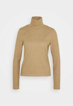 Noisy May - NMMERVE HIGH NECK TOP - Trui - camel