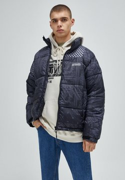 PULL&BEAR - Winterjacke - mottled black