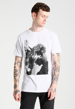 Mister Tee - 2PAC  - T-shirt con stampa - white