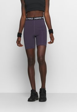 Nike Performance - Tights - dark raisin/black