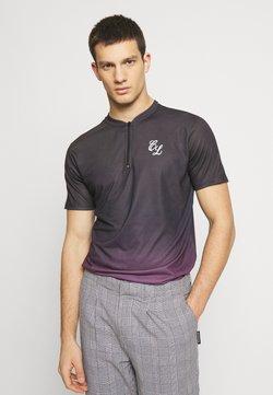 CLOSURE London - CONTRAST FADE - Print T-shirt - port