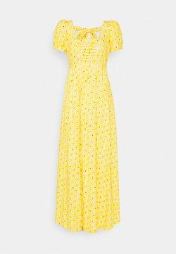Diane von Furstenberg - POPPY DRESS - Maxiklänning - sunshine yellow