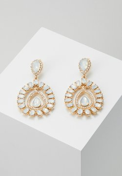 ONLY - ONLWONDERDROP EARRINGS - Ohrringe - gold-coloured/milky