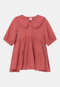 Lindex - MINI DRESS WITH COLLAR MINI ME - Blusenkleid - light pink