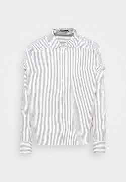 Scotch & Soda - CLEAN STRIPE POPOVER - Hemdbluse - white