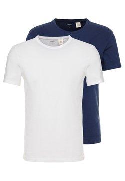 Levi's® - CREWNECK 2 PACK - T-shirt imprimé - blues/white