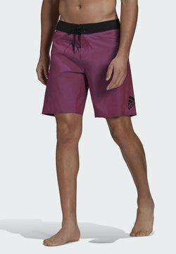 adidas Performance - KNEE-LENGTH PRIMEBLUE SWIM SHORTS - Short de bain - purple