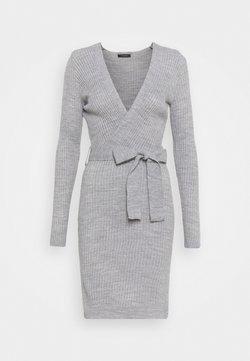 Trendyol - Vestido de punto - grey