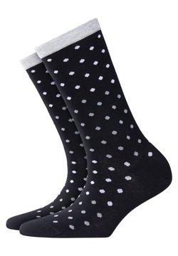 Burlington - DOTTY - Socken - black (3000)