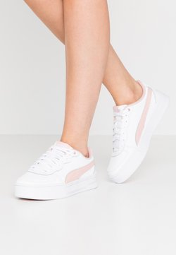Puma - SKYE - Sneaker low - white/peachskin