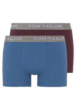 TOM TAILOR - 2 PACK - Shorty - red-dark-uni