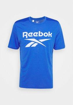 Reebok - WOR SUP GRAPHIC TEE - T-Shirt print - blue