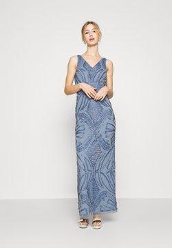 Lace & Beads - FALLYN MAXI - Vestido de fiesta - dusty blue