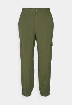 ONLY Petite - ONLARIS LIFE PANT - Pantalones - kalamata