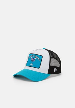 New Era - GRAPHIC PATCH TRUCKER - Lippalakki - light blue/white