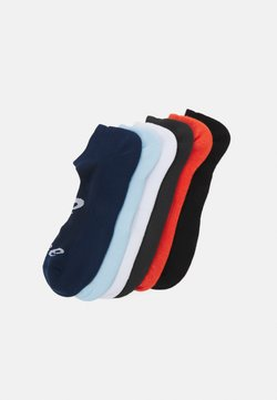 ASICS - INVISIBLE SOCK 6 PACK UNISEX - Sportsocken - white/black/grey/peacoat/smoke blue/marigold