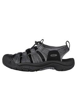 Keen - NEWPORT H2 - Trekkingsandale - black/steel grey