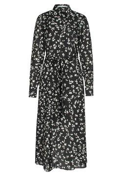 BOSS - Blusenkleid - schwarz