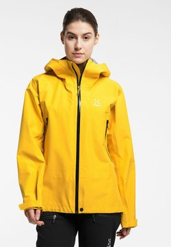 Haglöfs - HARDSHELLJACKE ROC GTX JACKET WOMEN - Hardshelljacke - pumpkin yellow