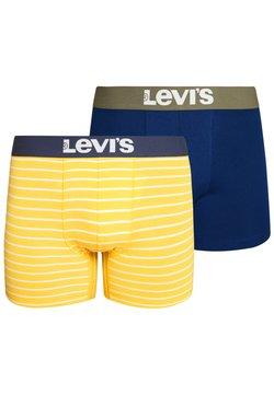 Levi's® - VINTAGE STRIPE BOXER 2 PACK - Shorty - yellow
