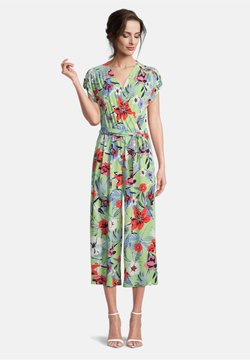 Betty Barclay - Jumpsuit - green/red