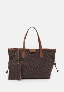 Dune London - DENTON SET - Tote bag - brown