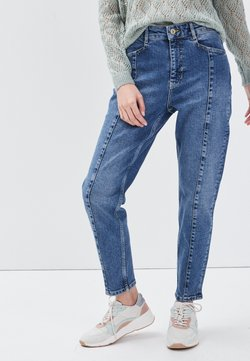 BONOBO Jeans - MIT HOHER TAILLE - Jeans relaxed fit - denim stone