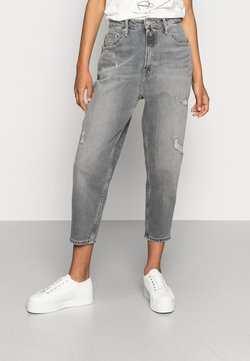 Tommy Jeans - MOM JEAN UHR  - Jeans relaxed fit - denim black