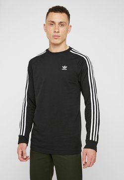 adidas Originals - 3 STRIPES CREW UNISEX - Sweater - black