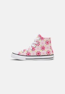 Converse - CHUCK TAYLOR ALL STAR  - Korkeavartiset tennarit - white/pink/black