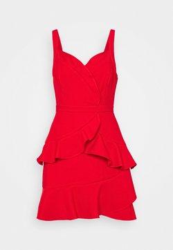 BCBGMAXAZRIA - STRAPPY DRESS - Vestito elegante - rosso
