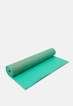 HIIT - FLAX YOGA MAT - Fitness / Yoga - green