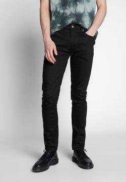 Nudie Jeans - LEAN DEAN - Jeans slim fit - dry ever black