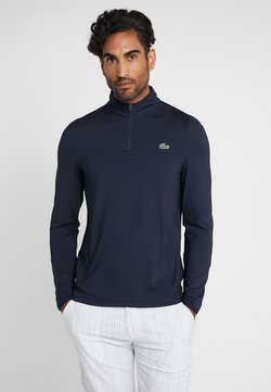 Lacoste Sport - QUARTER ZIP - Funktionsshirt - navy blue