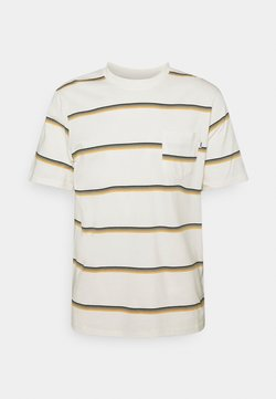 Wood Wood - BOBBY STRIPE - T-shirt con stampa - offwhite