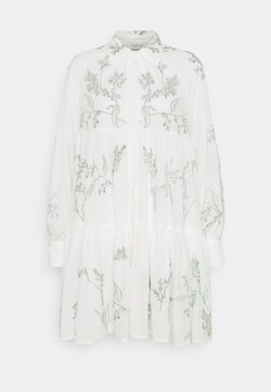 By Malina - ALEXIA DRESS - Freizeitkleid - white