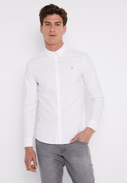 Farah - BREWER SLIM FIT - Camisa - white