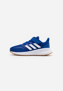 adidas Performance - RUNFALCON UNISEX - Laufschuh Neutral - royal blue/footwear white