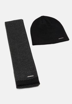 Pier One - SET - Écharpe - grey/black