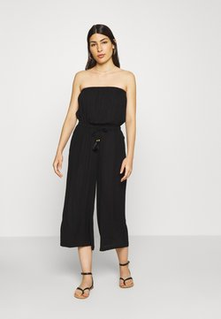 s.Oliver - OVERALL CULOTTE  - Combinaison - schwarz