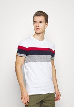 Superdry - CLASSIC STRIPE TEE - T-Shirt print - optic