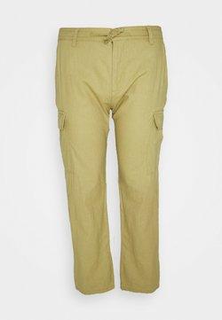 INDICODE JEANS - LASSO - Pantalon cargo - khaki