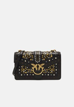 Pinko - LOVE CLASSIC ICON NEW STUDS VINTAGE - Handtasche - black