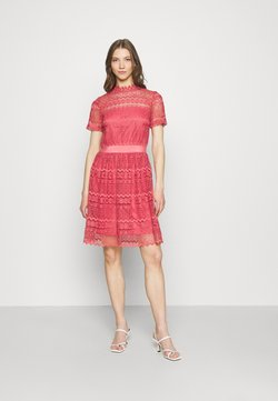 Vila - VINELLY DRESS - Vestido de cóctel - slate rose