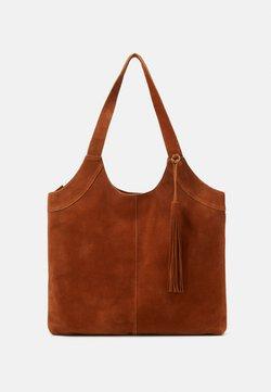 Anna Field - LEATHER - Bolso shopping - cognac