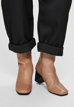 Selected Femme - Ankle Boot - tigers eye