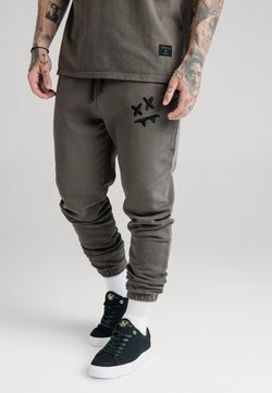 SIKSILK - STEVE AOKI X - Jogginghose - washed grey