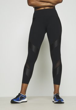 Sweaty Betty - POWER SCULPT WORKOUT LEGGINGS - Leggings - black