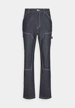 Grimey - NITE MARAUDER PANTS UNISEX - Jeansy Straight Leg - indigo blue